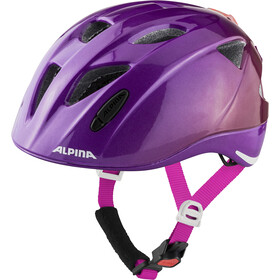 Alpina Ximo Flash Helm Kinder berry gloss